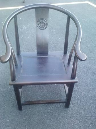 statement chair, $30