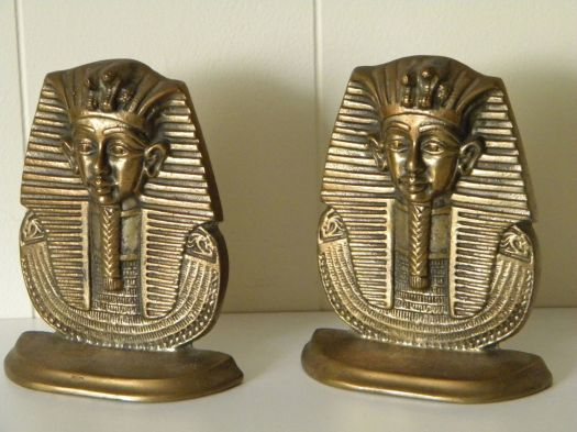 sphinx bookends, $48